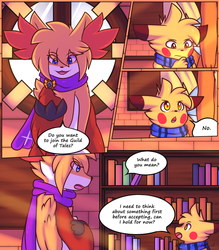 Aezae's Tales Chapter 4 Page 5 by Xael-The-Artist