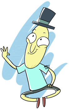 DaD Day 118: Mr Poopy Butthole by Halabaluu
