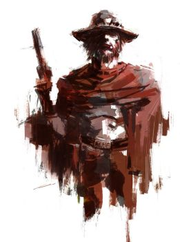 McCree Gear Solid (Overwatch) by Alex-Chow