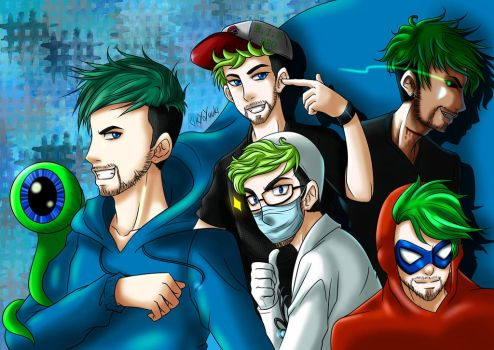 Youtube: Jacksepticeye by KikyoYuuki