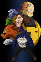 street sharks colored by Anny-D