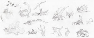The MH Concepts Continue by DinoHunter2