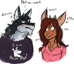 Look at these dumb furry fucks by risky