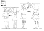 Lexie Senji Academy and Pre-Shippuden by KakashiXIrukaLover14