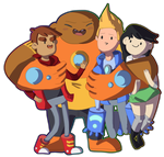 bravest warriors by ThatCreativeCat