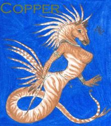 Anthro Hippocampus by shiftyferret