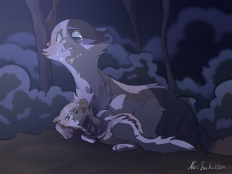 StarClan has abandoned both of us by NeriTheKitten