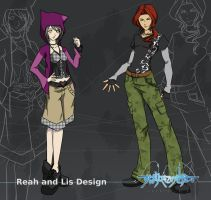 WEWY HERO: Reah and Lis by bourgogne