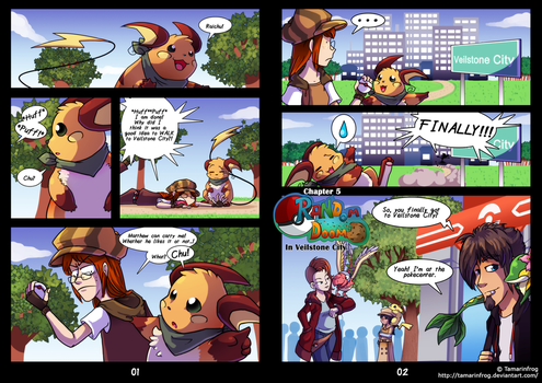 RDiVC - Pages 1-2 by TamarinFrog