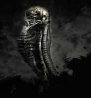 tribute to GIGER by MarcoHayek