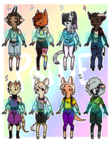 [AUCTION][OPEN]//PRIDE ANTHRO ADOPTS BATCH by Adopt-BAF