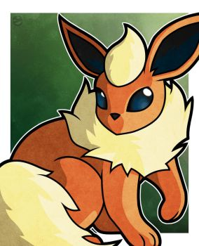 Flareon by WhyDesignStudios