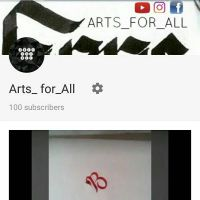 Subscribe my YouTube channel  by Artsforall12