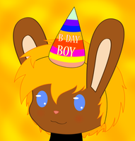 B-day boy by Wopter