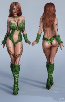 Character Reference Poison Ivy by tiangtam