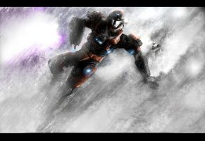HALO Snow Battle REQUEST by jose144