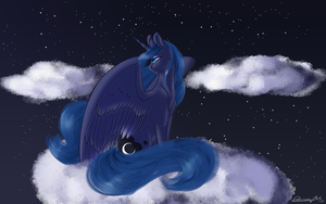 Mother Of The Moon Redraw by ColourdropArt