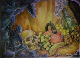 Meta still life by Jesther101