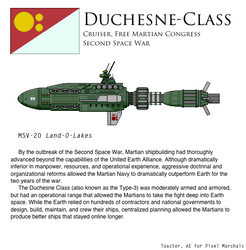 Duchesne-Class Cruiser by Another-Eurasian