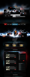 Gaming Website Design [For Sale] by NickchouBG