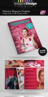 24 Pages Valentine Magazine Template by idesignstudio