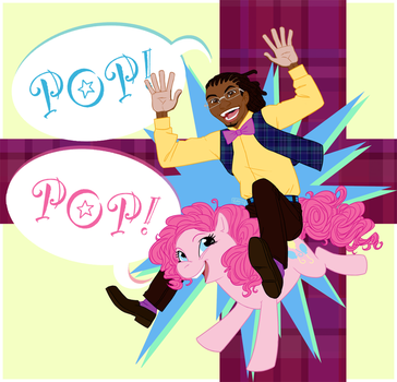 One Man Party, One Party Pony by muffinpoodle