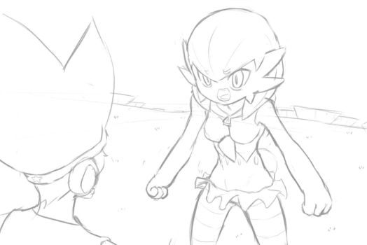 Gardevoir is Angry - Scene Process by MurPloxy