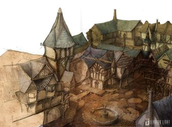 Fable architectural quickie by PeteAmachree