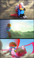 Glitchtale - Love Part 2 by TC-96