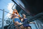 Nami Robin Dressrosa One Piece Cosplay-On the Look by firecloak
