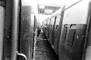 between the train by sandeep-m