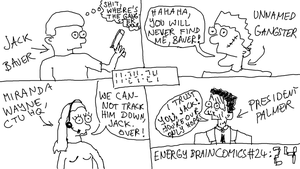 Energy Brain Comics #24: 24 by EnergyBrainComics