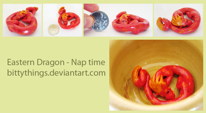 Eastern Dragon - Nap Time by Bittythings