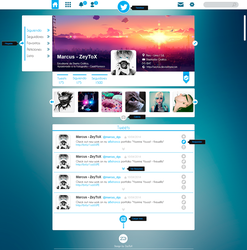 Concepto web Twitter by ZeyToX