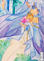 ACEO 51 - Ayuna by gowen-production