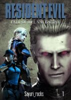 RE - Fall of Jill Valentine [FanFiction Cover] by Sayuri-Tomoe