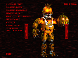 FnaF4 - Jack-O-Chica by Kana-The-Drifter