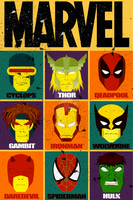 Marvel Poster by ChrisLovettDesign
