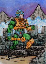 Man-at-arms, the warrior by danbrenus