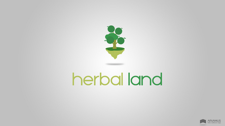 Herbal Land Logos by rezpa