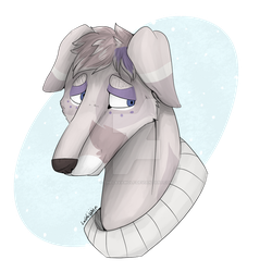 Art Fight #35 - A Sweater Friend by TheLavaWolf