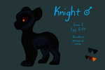 Knight Melanoid Submission (EVOLOONS) by CoffeeAddictedDragon