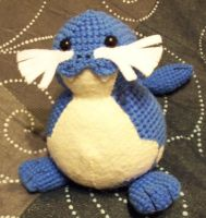 Custom Sealeo Amigurumi Plush