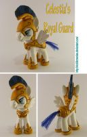 Celestia Royal Guard Pony FIM by VickiBrownies