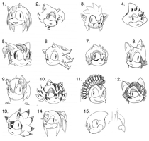 Headshot Points Adopts #1 by SonicsBestGal