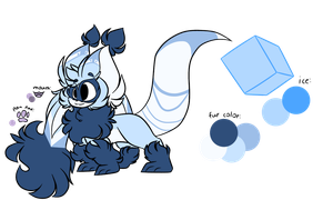 Ice flingleens (GIFTO) by Perma-Fox
