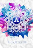 The Legend of a Zelda Mandala by ever-so-excited