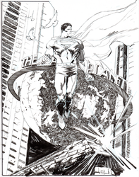Superman NYCC commission by thisismyboomstick