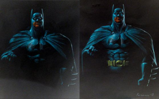 BATMAN step 2 and 3 by PitBOTTOM