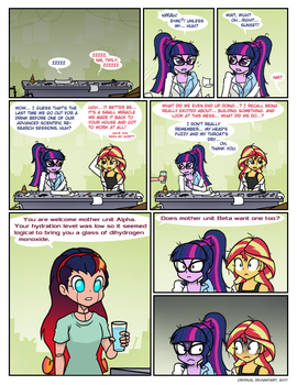 What we did last night by Crydius